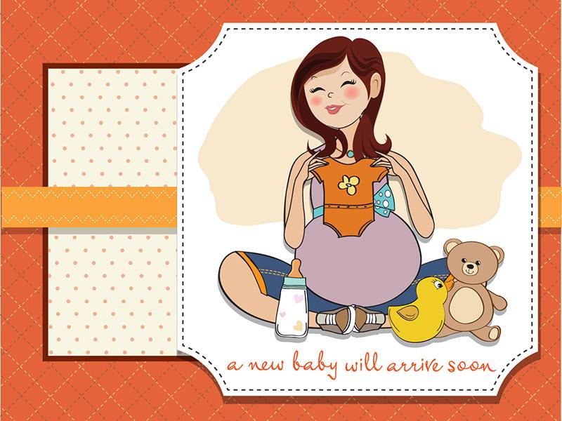 Открытки с днем рождения беременной женщине красивые, открытки для